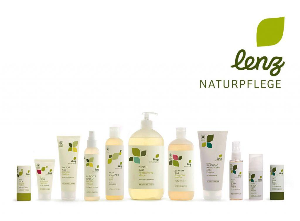 Lenz Naturpflege Produktfamilie